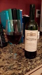Chateau Bellevue,  an enjoyable evening bottle